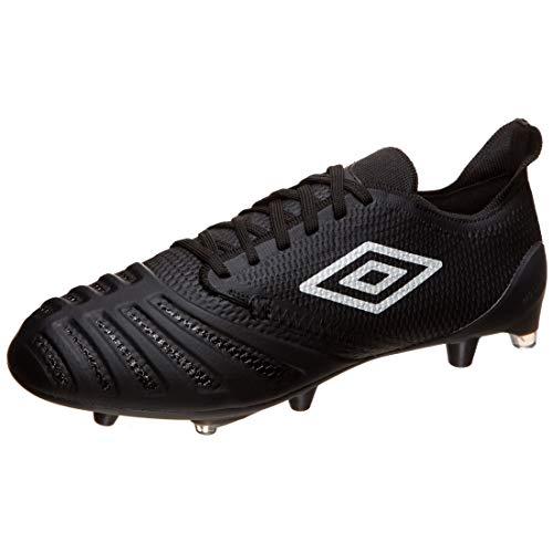 UMBRO UX Accuro III Pro FG Fußballschuh Herren schwarz/weiß, 11.5 UK - 47 EU - 12.5 US