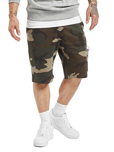 Alpha Industries Herren Shorts X-Fit Camouflage L