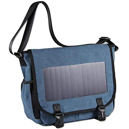 LKK-KK Zaino solare con alta efficienza del pannello solare Bag Solar Charger Pack Compatible with telecamere
