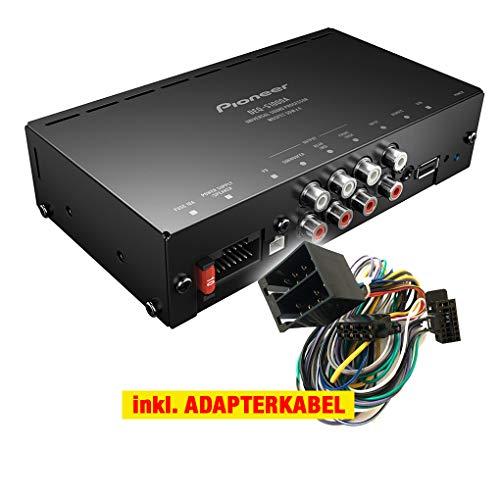 Pioneer DEQ-S1000A-I Auto/KFZ Kompakt Upgrade Klangprozessor/Verstärker kompatibel für FIAT