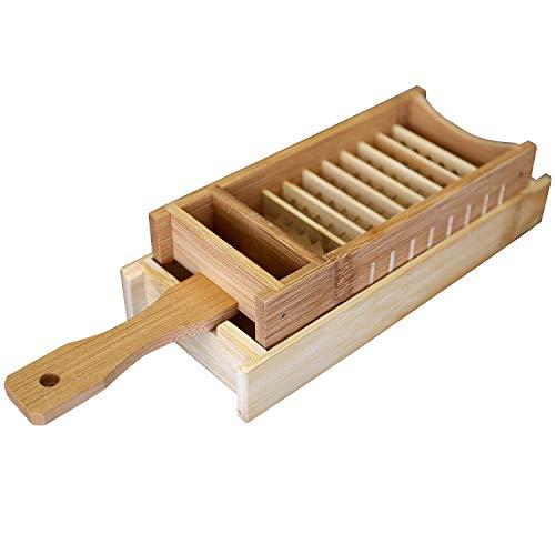 虎斑竹専門店竹虎『竹製大根おろし(おにおろし)と竹皿のセット』