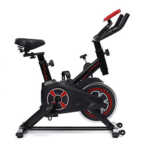 MMAXZ Bicicleta estática con Monitor LCD Hogar silencioso B