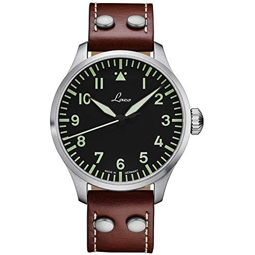 Laco Augsburg Type A Dial German Automatic Pilot Watch...