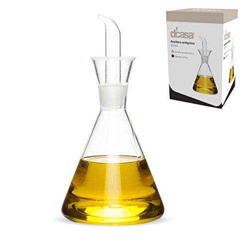 Dcasa - Aceitera antigoteo dcasa de 250 ml