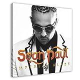 Sean Paul Albumcover – Imperial Blaze Leinwand-Poster,