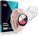 LϟK 6 Stücke Schutzfolie Kompatibel mit Samsung Galaxy Watch Active 2 40mm & Samsung Galaxy Watch Active - HD klar Flexible Folie Blasenfreie Premium-Qualität Bildschirmschutzfolie