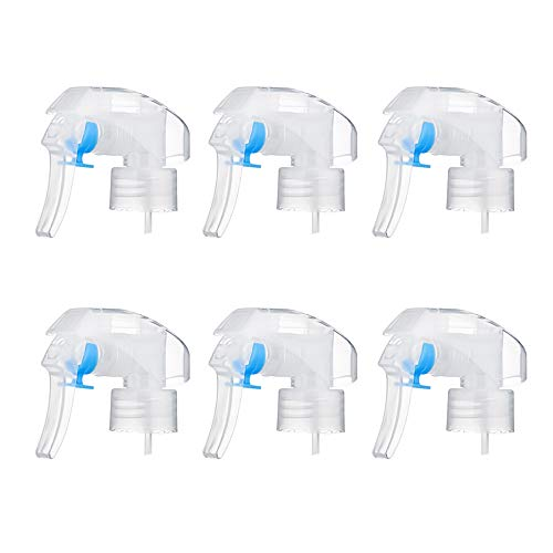 Bocotoer Juego de 6 boquillas de detergente de plástico con boquilla de botón de mano