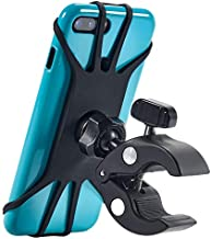 New 2020 Bicycle & Motorcycle Phone Mount - The Most Secure & Reliable Bike Phone Holder for iPhone, Samsung or Any Smartphone. Stress-Resistant and Highly Adjustable. +100 to Safeness & Comfort