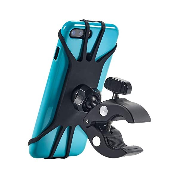 New 2020 Bicycle & Motorcycle Phone Mount – The Most Secure & Reliable Bike Phone Holder for iPhone, Samsung or Any Smartphone. Stress-Resistant and Highly Adjustable. +100 to Safeness & Comfort