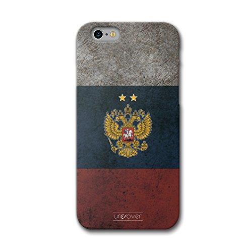 Urcover Funda iPhone 6 / 6s Copa del Mundo 2018 Football, Carcasa Trasera Camiseta de Futbol [Team Rusia] Protector Mundial de Fútbol Cover...