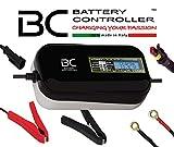 BC LITHIUM 7000 - 12V 7A - Caricabatteria e mantenitore automatico e digitale per batterie al litio/LiFePO4 + Tester di batteria e alternatore