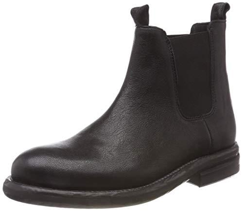 Shabbies Amsterdam Damen SHS0285 Chelsea Boots, Schwarz (Black 0001), 39 EU