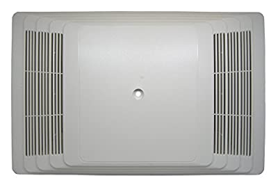 Broan S97013581 Bathroom Fan Cover Grille Assembly Kit, White from Broan