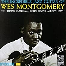 wes montgomery the incredible jazz guitar of wes montgomery