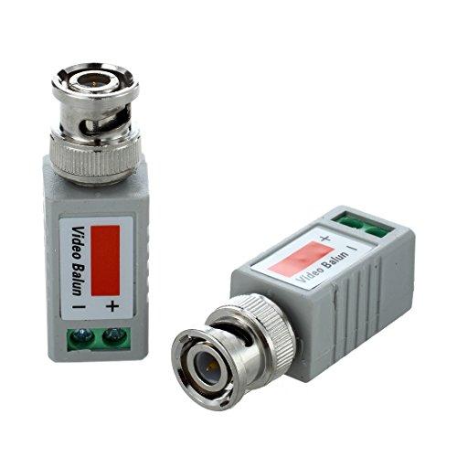 CUHAWUDBA 2X Video Balun BNC DVR UTP CAT5 Passiv Transmitter Fuer CCTV/ss?berwachungskamera