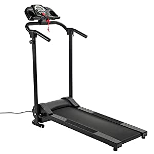 ZELUS Folding Treadmill for Home Gym, Portable Wheels, Electric Foldable Running Cardio Machine with Cup Holder/ 3 Level Incline, Heart Monitor Walking/Runners Exercise Equipment (750W w/APP) by Z ZELUS