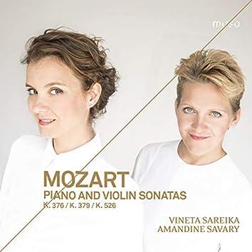 Mozart: Piano and Violin Sonatas, K. 376, K. 379 & K. 526