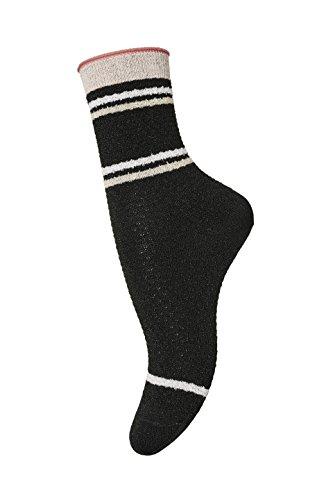 mp Socks Damen Ankle Kiki mit Lurex,  Mehrfarbig (Powder 800), Gr. 37-39 (Herstellergröße: 10)