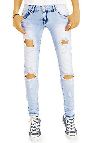 Sotala Femmes High Waist Stretch Skinny Jeans Pantalon Slim Fit Skinny Noir