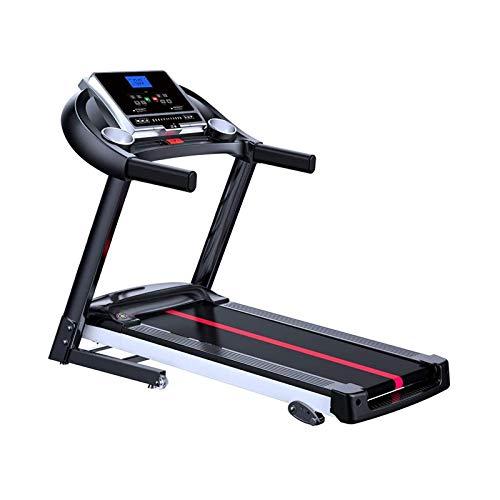 Cinta de correr plegable con función Bluetooth incorporada, con pantalla LED de 2,25 hp, eléctrica bajo el entrenamiento de cinta de correr de escritorio, equipo de fitness para casa BJY969