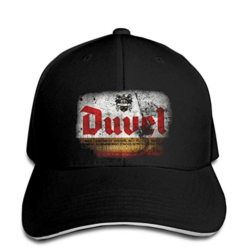 OF Duvel Beer Black Baseball Cap Ships hat Peaked