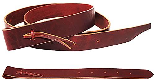 CHALLENGER Pferdesattel Westernsattel Latigo Off Billet & Cinchgurt 2-teilig mit Löchern 404RS03