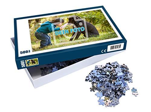 Puzzle mit eigenem Foto gestalten, 112 bis 1000 Teile | Individuelles Foto-Puzzle mit eigenem Bild und Text zum selbst gestalten, ideal als persönliches...