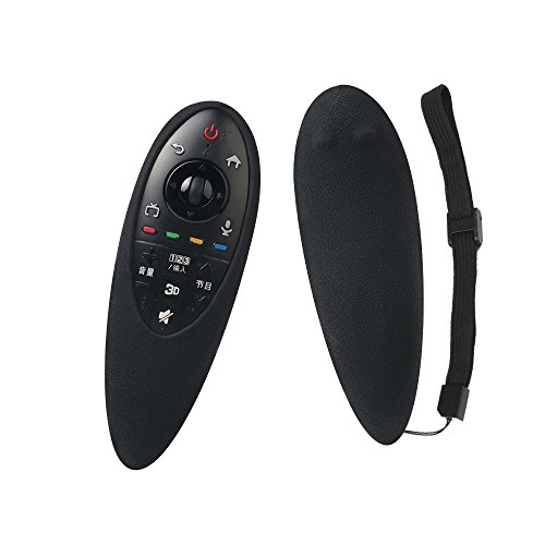 SIKAI CASE Funda para Mando a Distancia, Adapta Protege de Golpes Compatible con LG AN-MR500G AN-MR500 MBM63935937 Magic Motion Remote, Durable Arañazos Carcasa Protectora - Nero