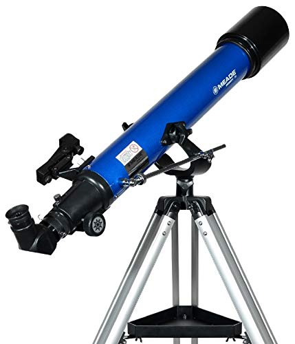 Photo of Meade Instruments Infinity 70AZ Refractor Telescope – Metallic Blue