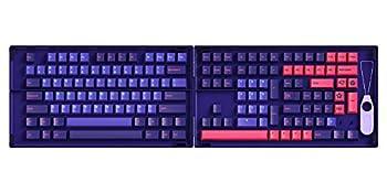 YUNZII AKKO Neon 157 Keys Cherry Profile Keycap Double-Shot PBT Keycap Gift Set for Mechanical Keyboard  157 Keys NEON