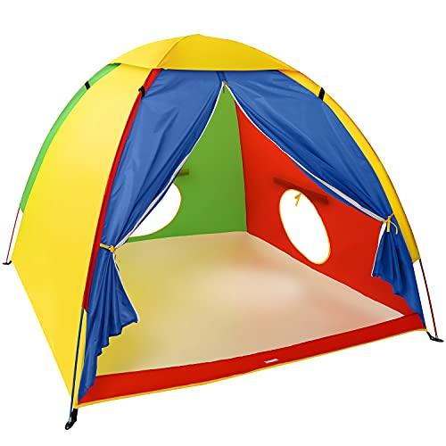 Kidoodler Kids Play Tent, Large Space Tent Outdoor Adventure Dome Tent Playhouse for Kids Indoor & Outdoor 60' x 60' x 47.3'