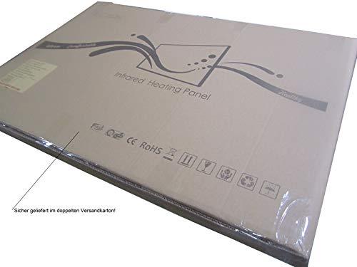 INFRAROT-HEIZUNG 600W- 60×100 cm-Bild-Heizung Heiz-Panel Elektro-Heizung Heiz-Körper Heiz-Strahler Heiz-Platte Strahlungsheizung Flach Zertifikate TÜV GS ROHS SAA CE-Garantie 5 Jahre kaufen  Bild 1*