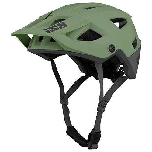 IXS Trigger Unisex AM Mountainbike-Helm, Grün (Reseda), SM (54-58cm)