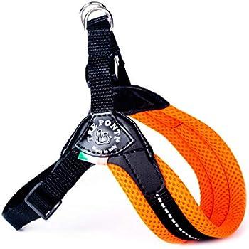 Treponti TRE Ponti Easy Fit Mesh Classic Neon Dog Harness, Size 2.5, Orange