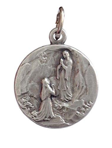 """Medalla de la Virgen de Lourdes – Le Medaglie dei Santi Patroni (""""Las Medallas de los Santos Patrones"""")"""