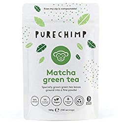 Matcha Tea Powder in a 100g pouch (100 servings) - A larger pouch for regular users of our best selling matcha tea Our ceremonial grade Japanese matcha has been grown without the use of pesticides Can help to improve your mood, memory & concentration...
