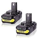 MASIONE 2Pack P102 3000mAh Batteries Replace...