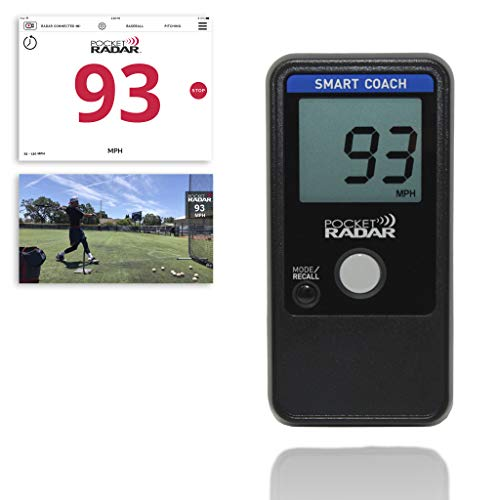 Pocket Radar Smart Coach App System/Allows for Remote Display and Speed in Video on External Devices