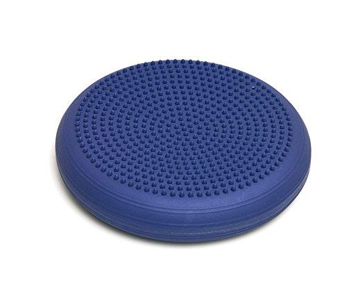 Togu Dynair Ballkissen Senso, blau-lila mit Noppen in XL 36 cm