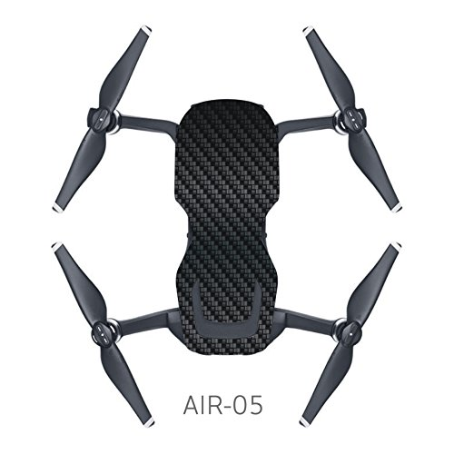 Price comparison product image MoreToys Waterproof Battery Decal Remote Controller Skin Wrap Decorative Sticker Decal Skin Full Set Drone Body Sticker for DJI Mavic Air Quadcopter Drone (C)