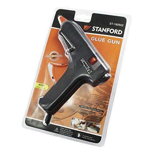 Stanford - Pistola Termofusible Pegamento o Silicona 40 W 220 V