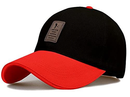 ALAMOS 1pcs Multicolor Black with red Fibre edixo Cap