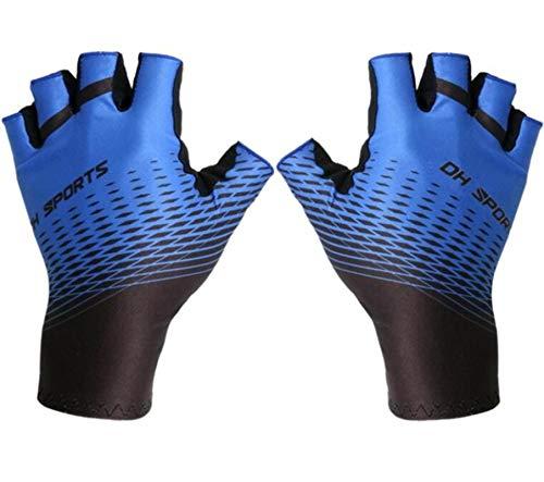 Guantes de ciclismo, protección exterior, para bicicleta de montaña o mujer, guantes de ciclismo que se pueden limpiar con guantes de ciclismo de poliéster y spandex permeables al gas.