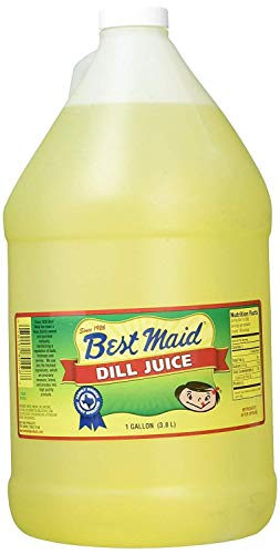 Best Maid Dill Juice, 1 Gal, Poly Bagged & Boxed