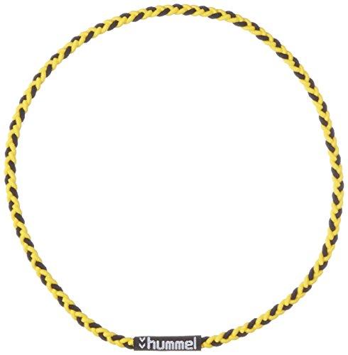 [ヒュンメル] ヘアバンド 三つ編みヘアゴム メンズ イエロー×ブラック (3090) 日本 フリーサイズ (FREE サイズ)