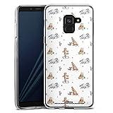 DeinDesign Coque en Silicone Compatible avec Samsung Galaxy A8 Duos 2018 Étui Silicone Coque Souple...