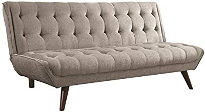 Magnificent Amazon Com Zinus Jocelyn Contemporary 65 Inch Armless Sofa Squirreltailoven Fun Painted Chair Ideas Images Squirreltailovenorg