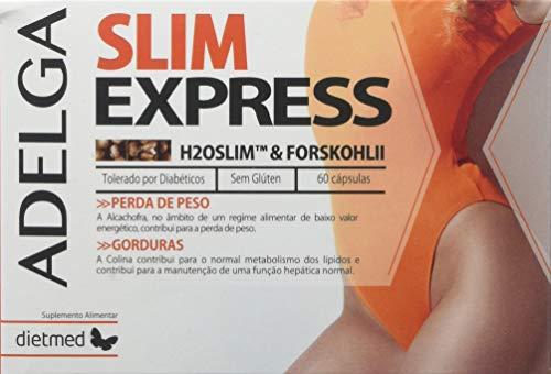 DietMed Adelga Slim Express Suplemento - 60 Cápsulas (DM1061S5)