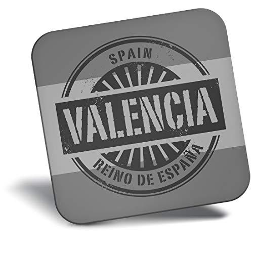 Imán para nevera de vinilo Destino ltd Awesome Bw - Valencia España Reino De Espana Travel #40500