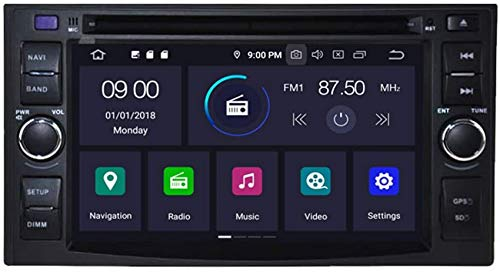 Drohneks Android 10 Car DVD GPS Stereo Compatible con KIA Optima Cerato Spectra Sorento/Carens/Sportage/Carnival/CEED/Rio/Rondo/Lotze/X-Trek/Sedona/Picanto/Morning Navigation Radio Cont
